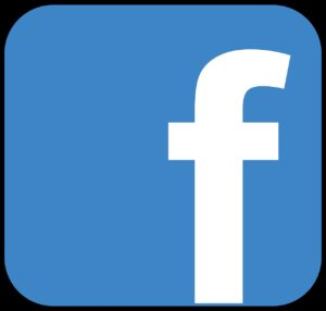 facebook, icon, blue